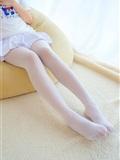 [森萝财团]萝莉丝足写真 R15-006 水嫩嫩的白丝美足(4)
