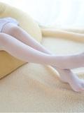 [森萝财团]萝莉丝足写真 R15-006 水嫩嫩的白丝美足(6)
