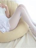 [森萝财团]萝莉丝足写真 R15-006 水嫩嫩的白丝美足(21)