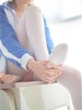 [森萝财团]萝莉丝足写真 R15-012 白丝粉红少女(17)