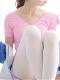 [森萝财团]萝莉丝足写真 R15-012 白丝粉红少女(19)