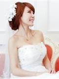 [Beautyleg番外篇]2014-05-18 拉拉主题棚拍 唯美婚纱风