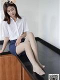 丝慕写真 SM367 来朵《帮老师脱鞋》
