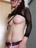 [丝图阁]STG 2011.08.13 No.037 Sufei 透明胸贴丝袜美女